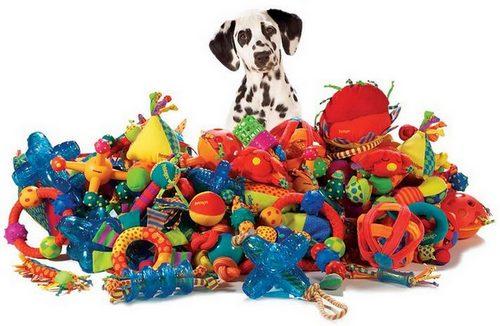 Rotaļlietas suņiem